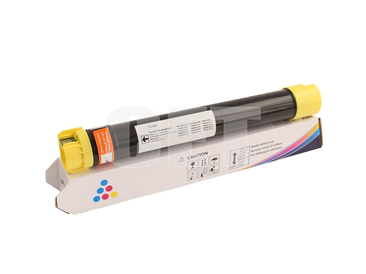 Тонер-картридж (CPT) 006R01514 для XEROX WorkCentre7525/7530/7535/7830/7840 (CET) Yellow, 360г, 15000 стр.,CET8644Y