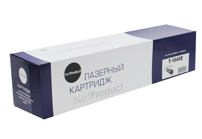 Тонер-картридж NetProduct (N-T-1640E) для Toshiba e-Studio163/165/166/167, туба, 24K