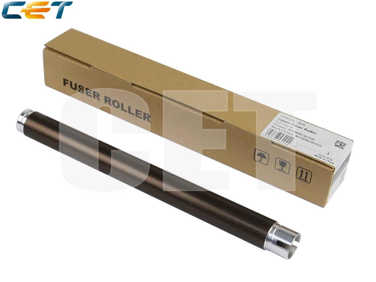 Тефлоновый вал для XEROX WorkCentre 3615DN/3655S/3655X(CET), CET3204