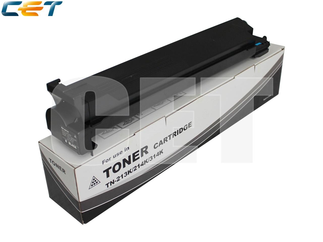 Тонер-картридж TN-213K/214K/314K для KONICA MINOLTABizhub C200/C203/C253/C353 (CET) Black, 460г, 25000 стр.,CET6801
