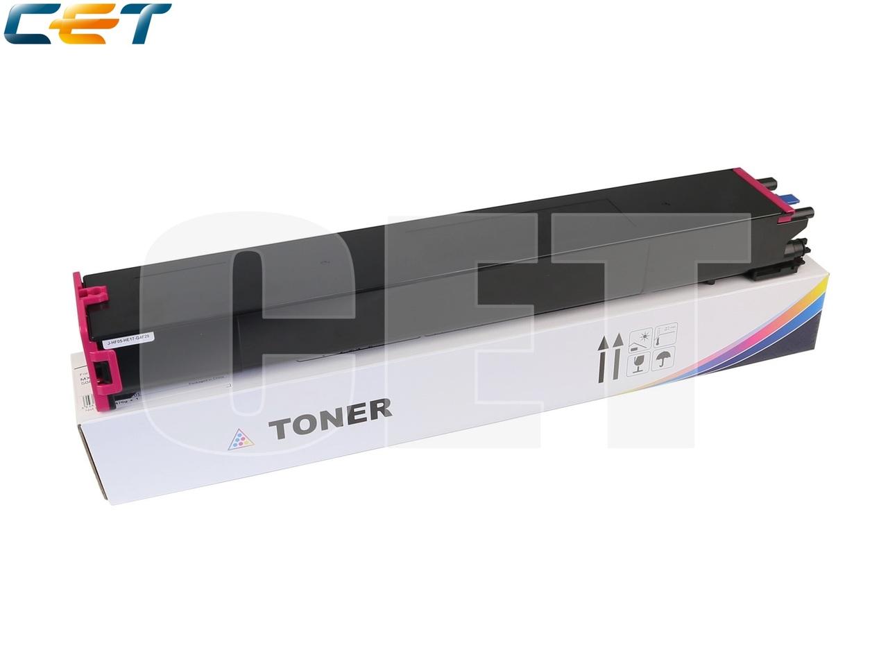Тонер-картридж (TF9) MX-60GTMA для SHARPMX-3050N/4050N/4070N/5070N (CET) Magenta, 476г, 24000стр., CET141244
