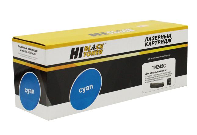 Тонер-картридж Hi-Black (HB-TN-245C) для BrotherHL-3140CW/3150CDW/3170CDW, C, 2,2K