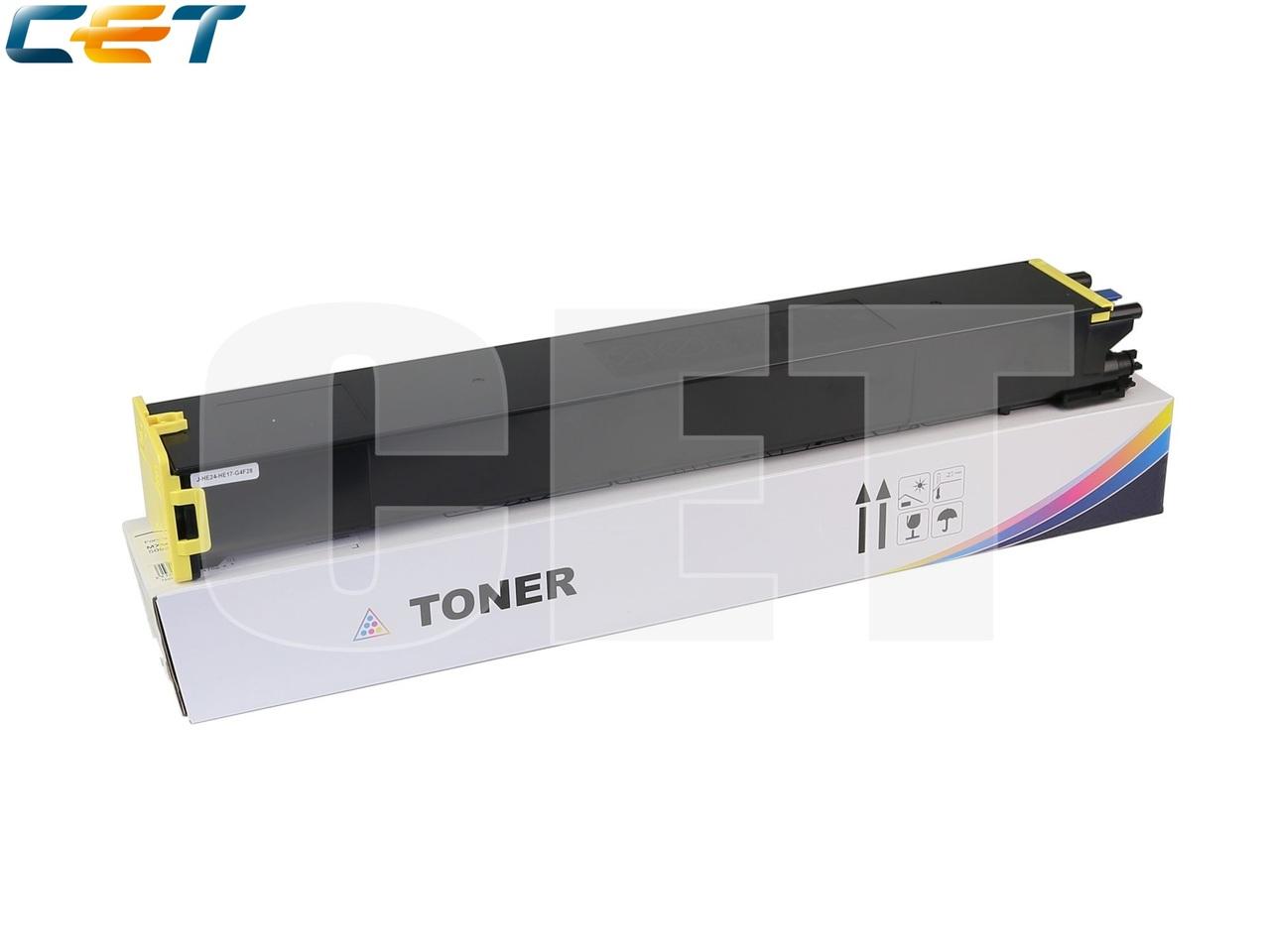 Тонер-картридж (TF9) MX-60GTYA для SHARPMX-3050N/4050N/4070N/5070N (CET) Yellow, 476г, 24000 стр.,CET141245