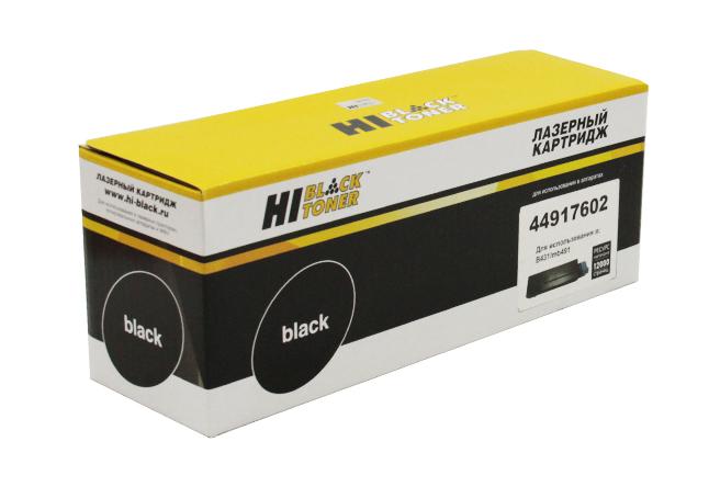 Тонер-картридж Hi-Black (HB-44917602) для OKIB431/MB491/MB461/MB471, 12K