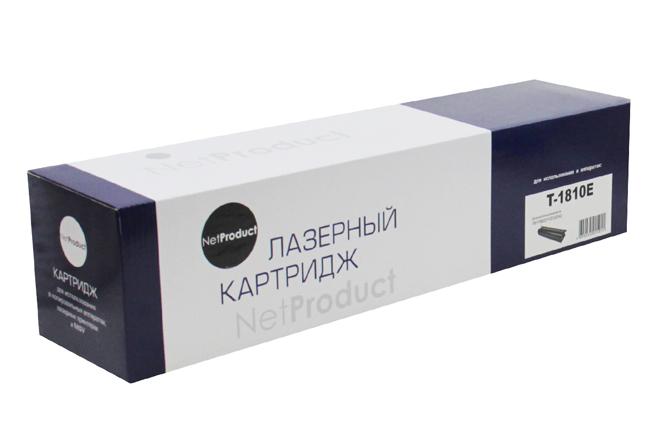 Тонер-картридж NetProduct (N-T-1810E) для Toshiba e-Studio181/182/211/212/242, 24K