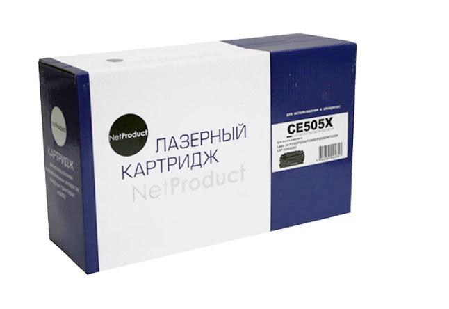 Картридж NetProduct (N-CE505X) для HP LJP2055/P2050/Canon №719H, 6,5K