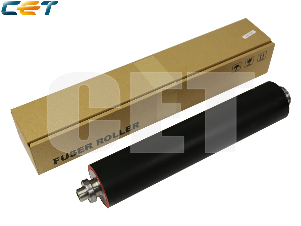 Резиновый вал с бушингами A0G6R70300, A4EUR70V00 дляKONICA MINOLTA Bizhub PRESS 1052/1250/1250P (CET),CET7078