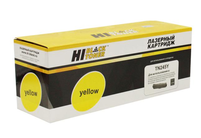Тонер-картридж Hi-Black (HB-TN-245Y) для BrotherHL-3140CW/3150CDW/3170CDW, Y, 2,2K