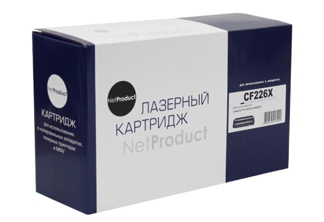 Картридж NetProduct (N-CF226X/CRG-052H) для HP LJ ProM402/M426/LBP-212dw/214dw, 9,2K