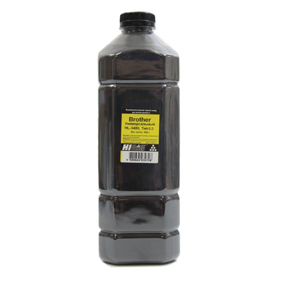 Тонер Hi-Black Универсальныйдля Brother HL-3480, Тип 3.2,Bk, 500 г, канистра