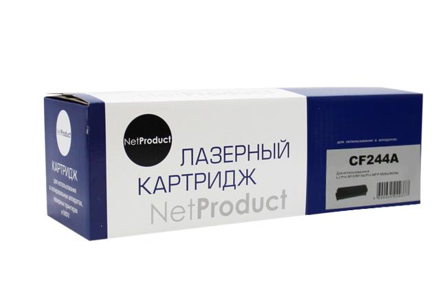 Картридж NetProduct (N-CF244A) для HP LJ Pro M15/M15a/ProMFP M28a/M28w, 1K
