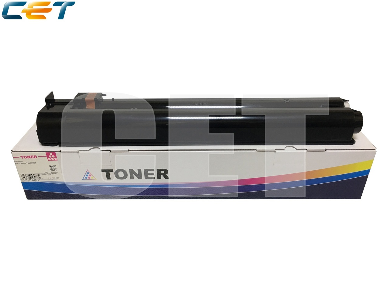 Тонер-картридж (CPT) 006R01451 для XEROX WorkCentre7655/7765 (CET) Magenta, 737г, 34000 стр., CET8648M