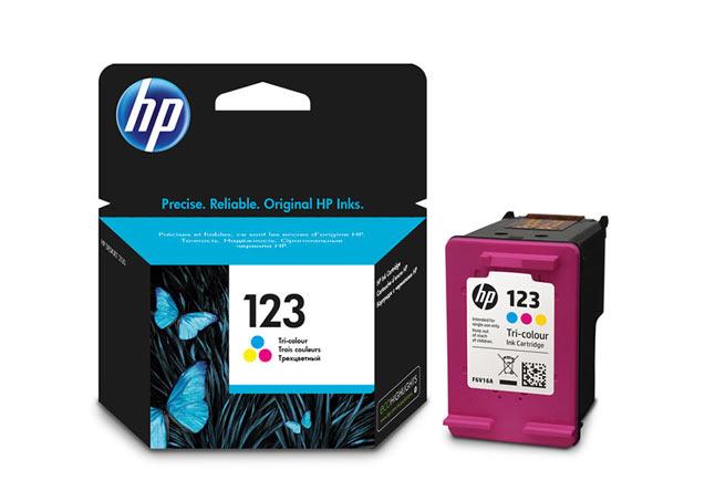 Картридж 123 для HP DJ2130, 100стр. (О) F6V16AE, Tricolor