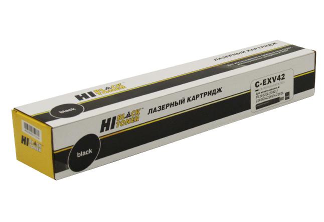 Тонер-картридж Hi-Black (HB-C-EXV42) для CanoniR-2202/2202N/2204, 9K