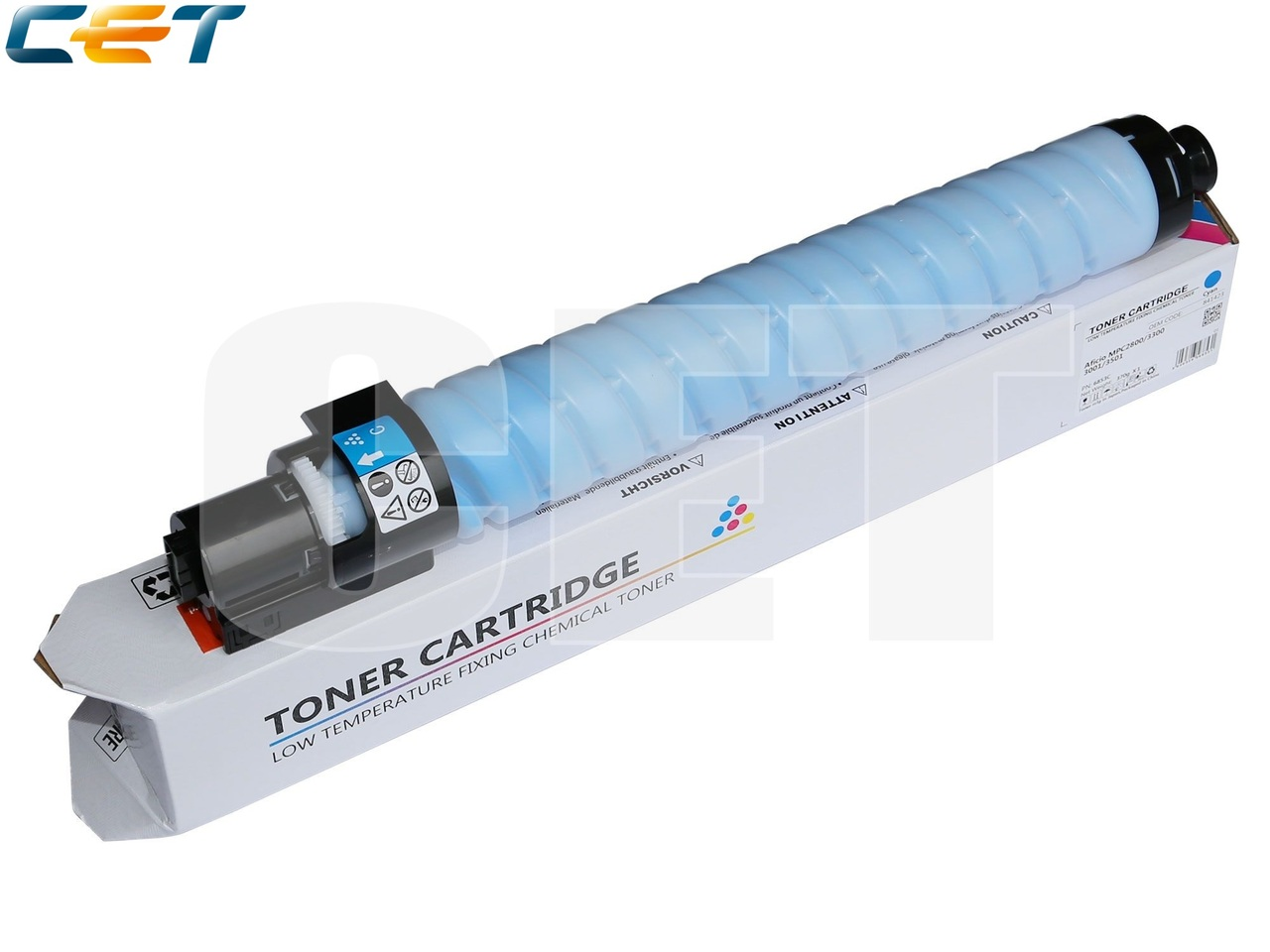 Тонер-картридж (CPT) 841427 для RICOH Aficio MPC2800/3300(CET) Cyan, (WW), 370г, 15000 стр., CET6853C