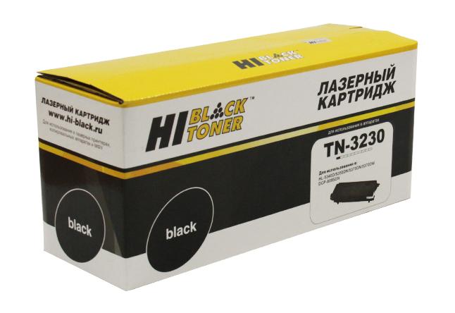 Тонер-картридж Hi-Black (HB-TN-3230) для BrotherHL-5340/5350/5370/5380/DCP8070D/8085DN,3K