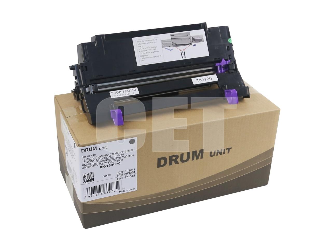 Драм-юнит DK-170 для KYOCERA ECOSYSM2035DN/P2135d/M2535DN (CET), 100000 стр., CET471048