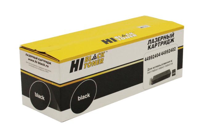 Тонер-картридж Hi-Black (HB-44992404/44992402) для OKIB401/MB441/451, 2,5K