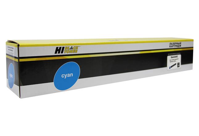 Тонер-картридж Hi-Black (HB-TK-8345C) для Kyocera TASKalfa2552ci, C, 12K