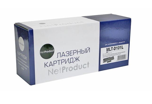 Картридж NetProduct (N-MLT-D101S) для SamsungML-2160/2162/2165/2166W/SCX3400, 1,5K