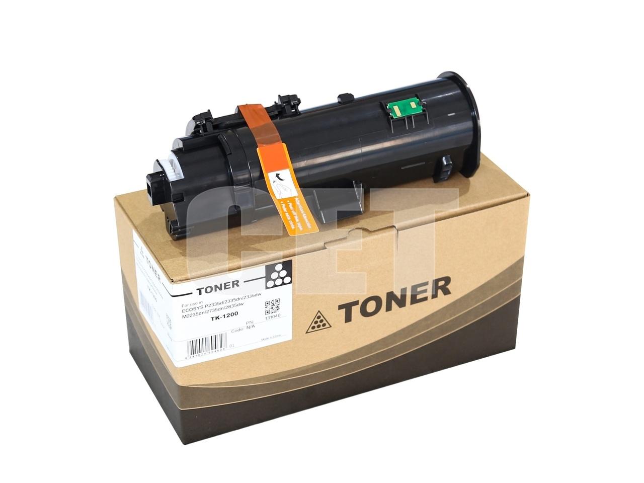 Тонер-картридж (PK9) TK-1200 для KYOCERA ECOSYSP2335d/2335dn/M2235dn/2835dw (CET), 116г, 3000 стр.,CET131040