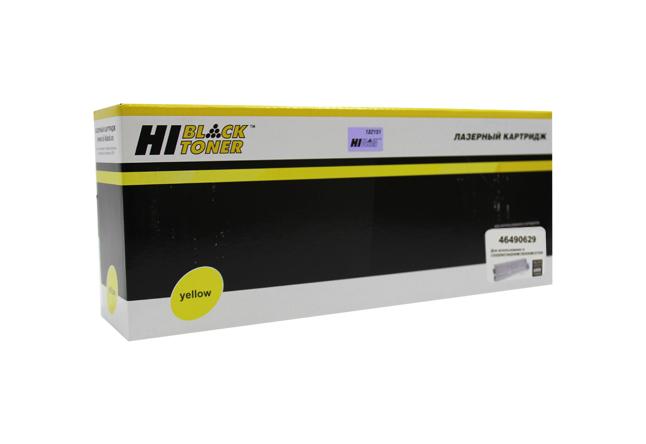 Тонер-картридж Hi-Black (HB-46490629) для OKIC532/C542/MC573/MC563, Y, 6K