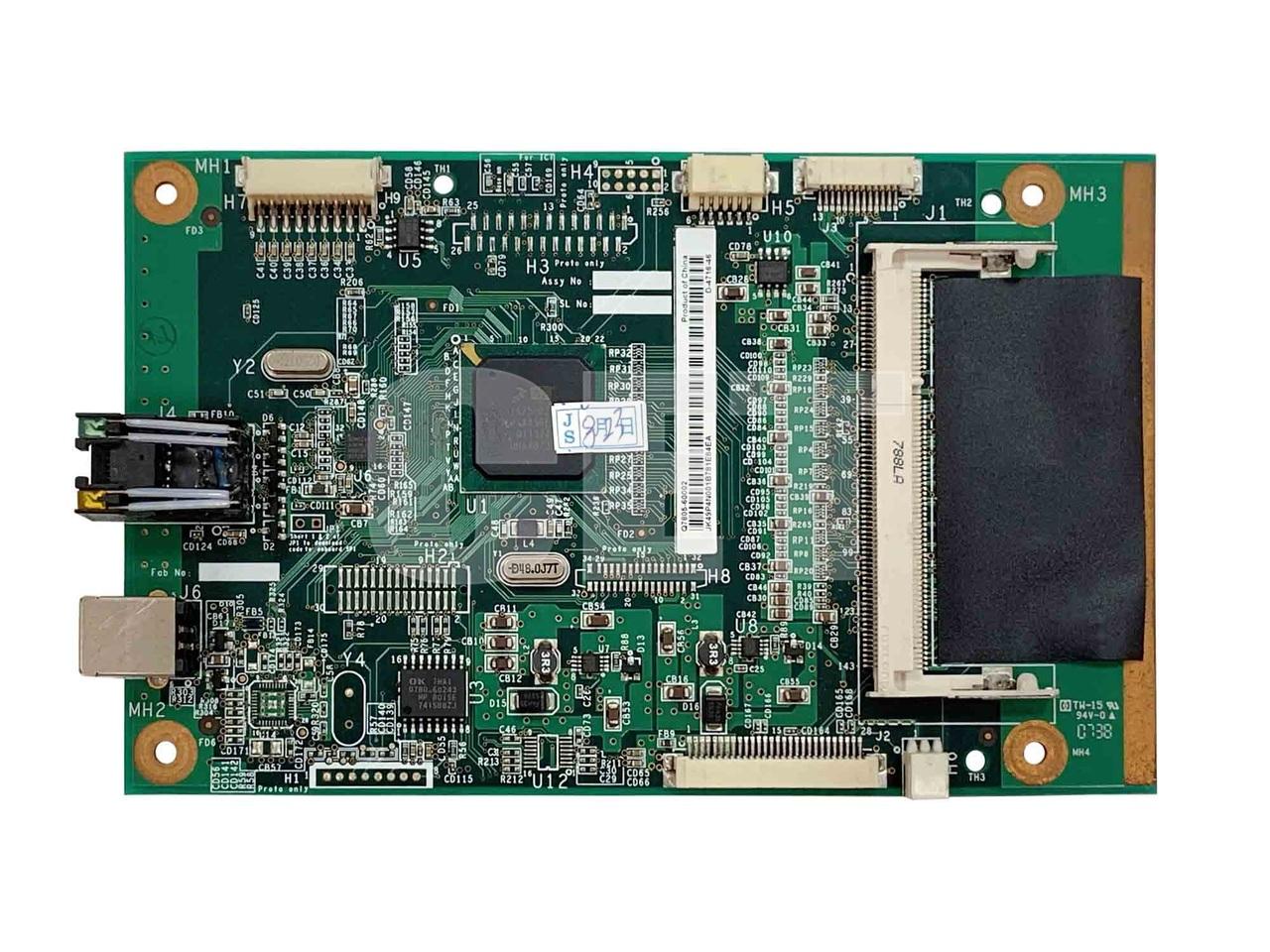Плата форматтера (сетевая) Q7805-60002 для HP LaserJetP2015DN/P2015N (CET), (восстановл.), CLS0039