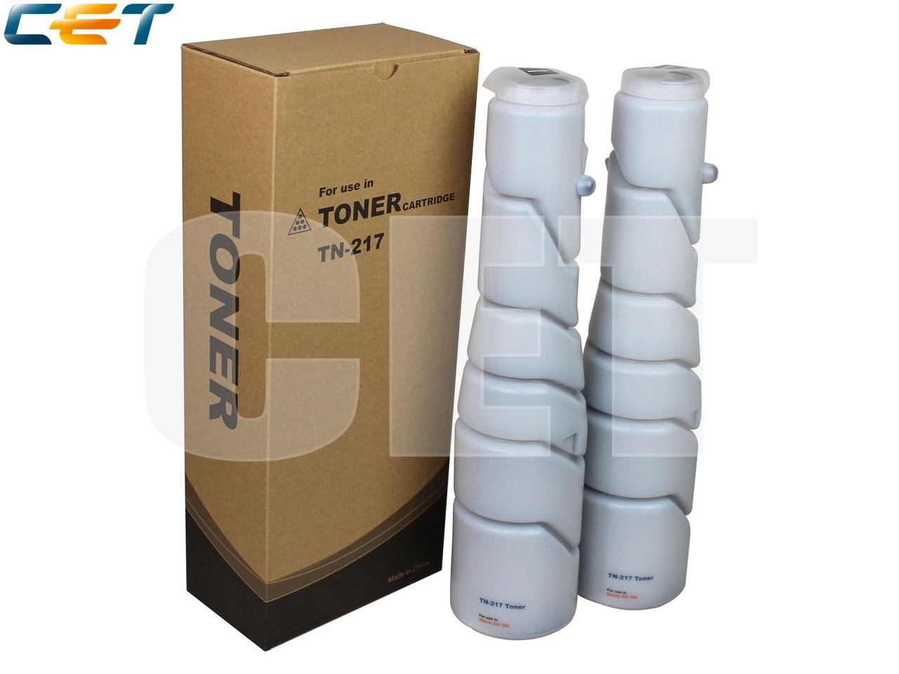 Тонер-картридж TN-217/TN-414 для KONICA MINOLTA Bizhub223/283/363/423 (CET), 360г, 17500 стр., CET6997