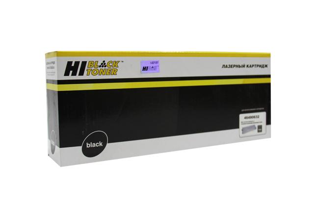 Тонер-картридж Hi-Black (HB-46490632) для OKIC532/C542/MC573/MC563, Bk, 7K